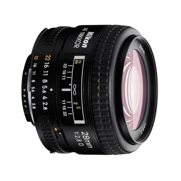 Nikon objektiiv AF Nikkor 28mm f/2.8D