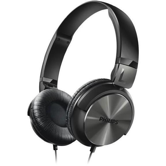 Philips SHL3160BK DJ-stiilis kõrvaklapid