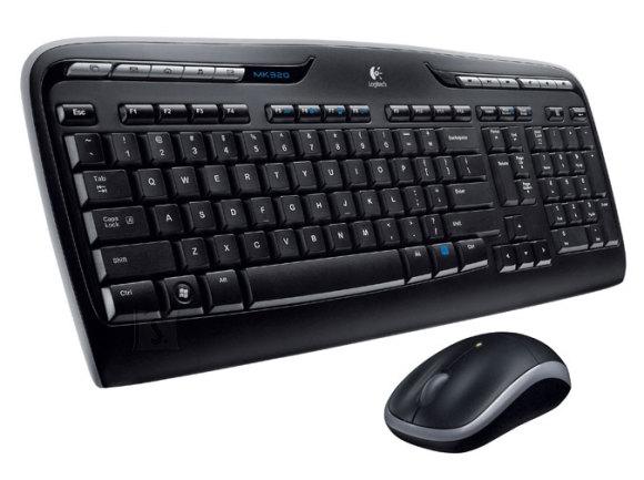 Logitech MK320 juhtmevaba klaviatuur + hiir