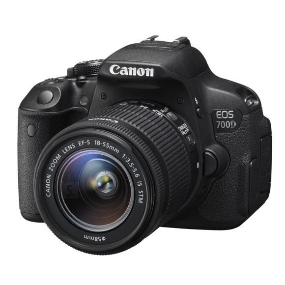 Canon peegelkaamera EOS 700D + EF-S 18-55 mm F3.5-5.6