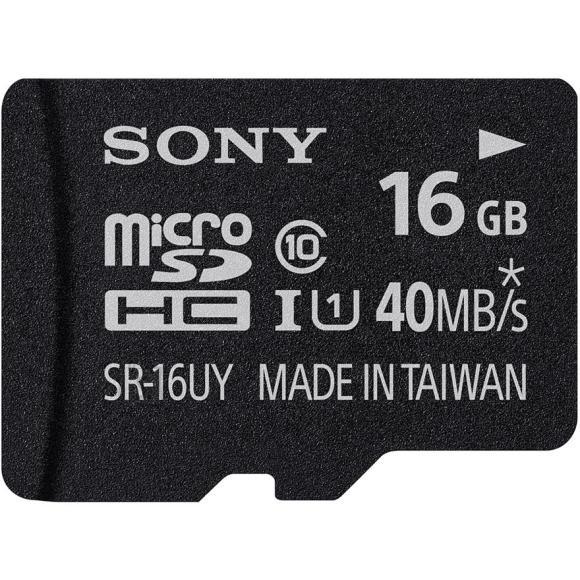 Sony adapteriga Micro SDHC mälukaart 16 GB