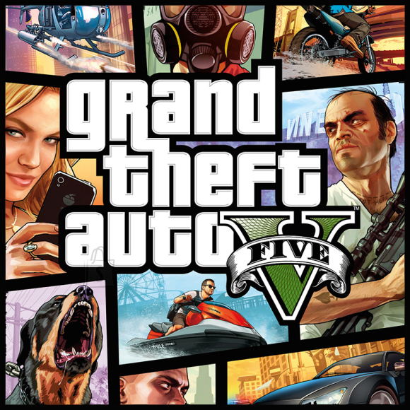 2K Games PlayStation 3 mäng Grand Theft Auto V