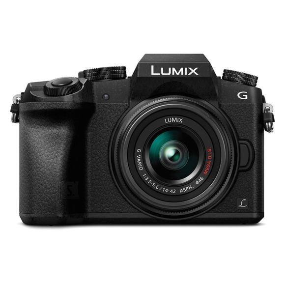 Panasonic hübriidkaamera LUMIX G7 + LUMIX G Vario 14-42mm