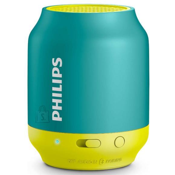 Philips kaasaskantav kõlar Bluetooth sinine/kollane