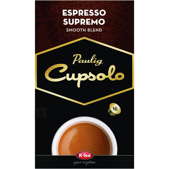 Paulig kohvikapslid Cupsolo Espresso Supremo