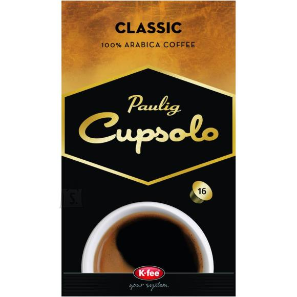 Paulig kohvikapslid Cupsolo Classic