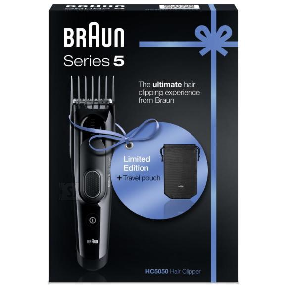 Braun juukselõikusmasin Series 5 + reisivutlar