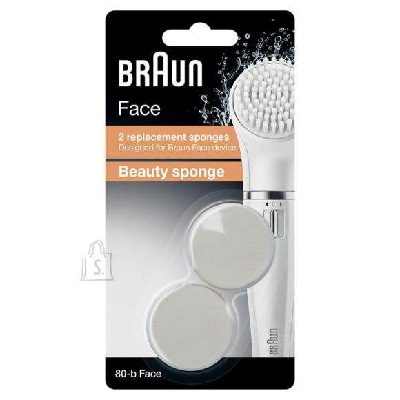 Braun meigisvammiga varuotsik näopuhastusharjale