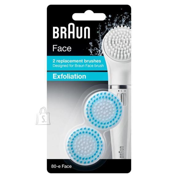 Braun kooriv harjapea näopuhastusharjale