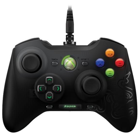 Razer juhtmega Xbox 360 mängupult Sabertooth