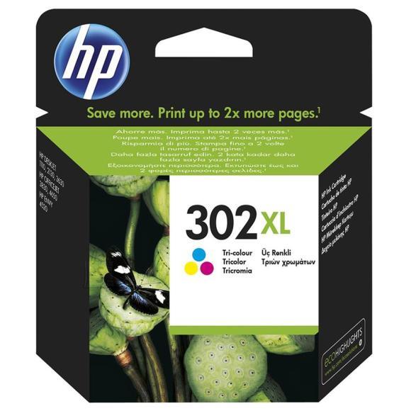 HP tindikassett 302XL värviline