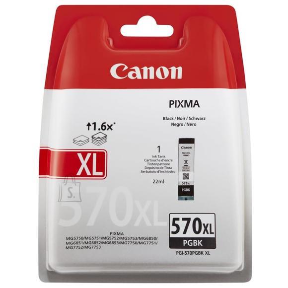 Canon tindikassett PGI-570 PGBK XL must
