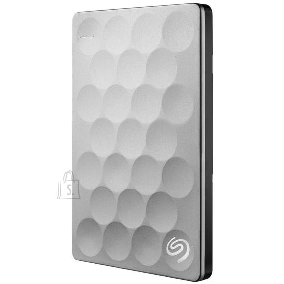 Seagate väline kõvaketas Backup Plus Ultra Slim, 2 TB, hall