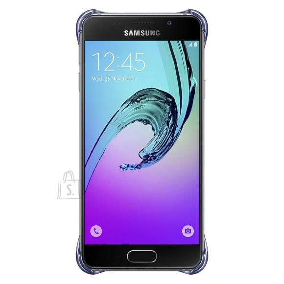 Samsung ümbris Galaxy A3 (2016 mudel), must