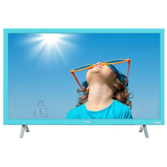 "TCL teler 24"" LED LCD, sinise raamiga"