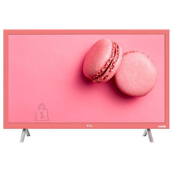 "TCL teler 24"" LED LCD, roosa raamiga"