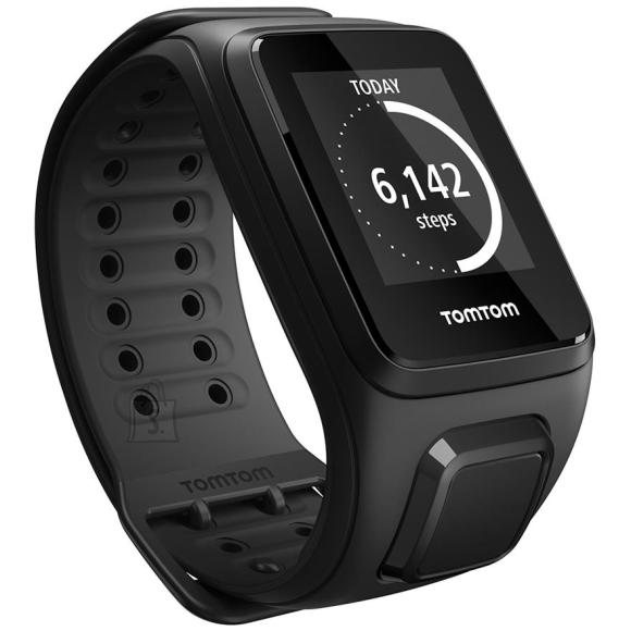 TomTom spordikell SPARK Cardio GPS + Music, randmerihma suurus: L