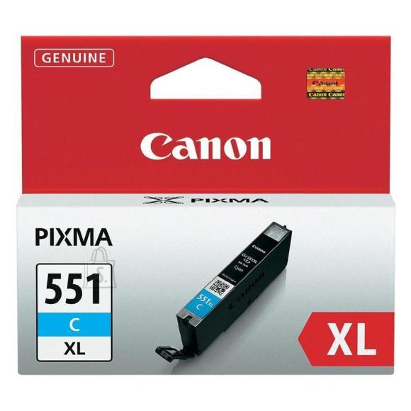 Canon tindikassett CLI-551XLC, tsüaan
