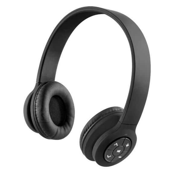 juhtmevabad kõrvaklapid Transit, must