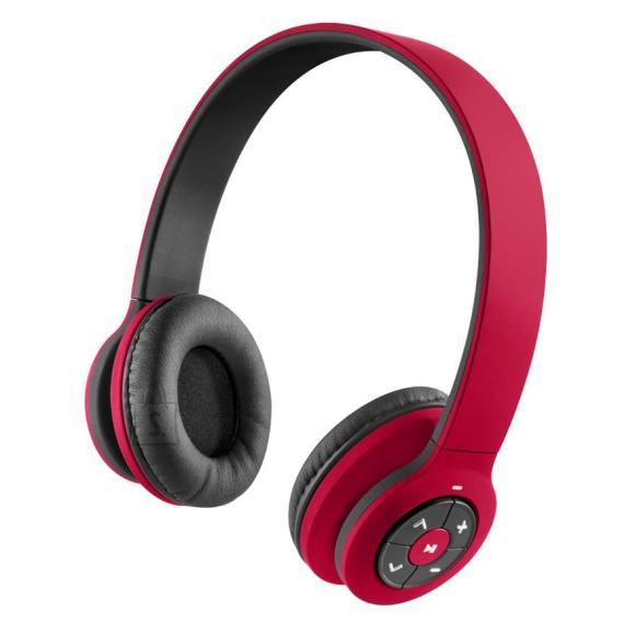 juhtmevabad kõrvaklapid Transit, punane