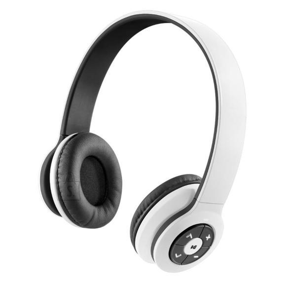 juhtmevabad kõrvaklapid Transit, valge
