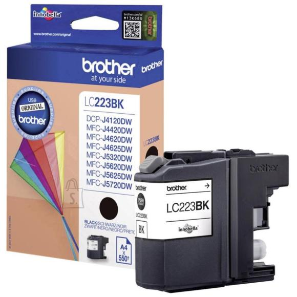 Brother tindikasset LC223BK, must
