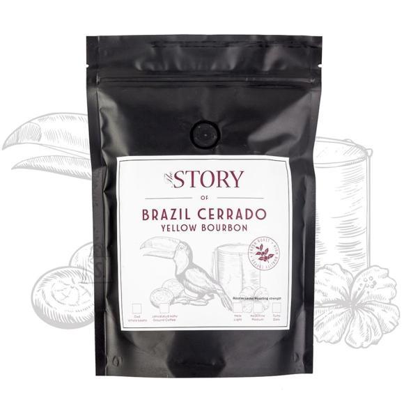 The Story kohviuba Brazil Cerrado Yellow Bourbon 250g