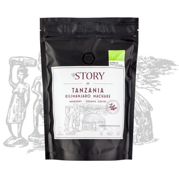 The Story kohviuba Tanzania Kilimanjaro Machare mahekohv 250g