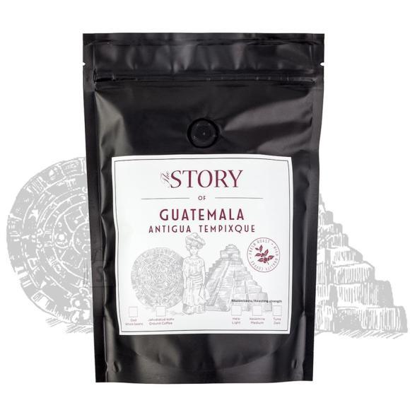 Kohviuba Guatemala Antigua Tempixque 500g, The Story