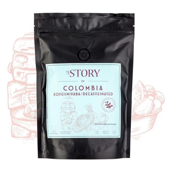 Kohviuba Colombia Decaf 500g, The Story
