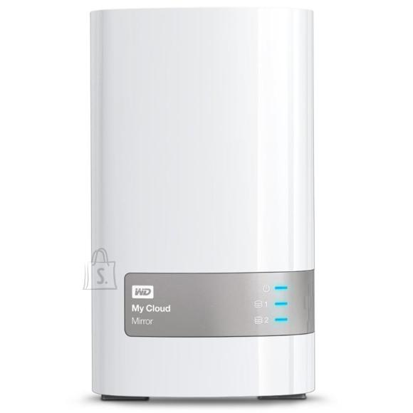 Western Digital väline kõvaketas WD My Cloud Mirror / 8TB, LAN