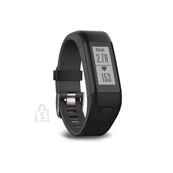 Garmin aktiivsusmonitor Vivosmart HR+ / regular, must (136-192mm)
