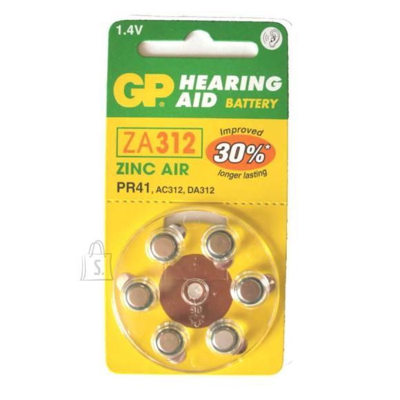 GP ZA312 kuuldeaparaadi patarei
