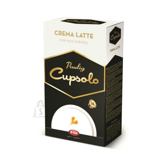 Paulig kohvikapslid Cupsolo Crema Latte