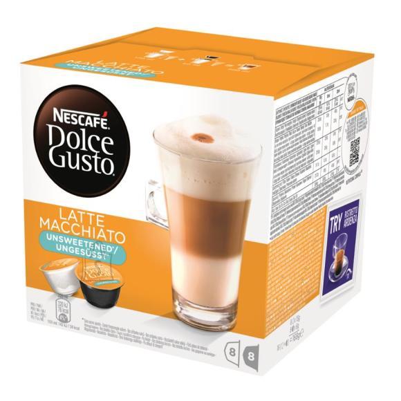 Nestle kohvikapslid Dolce Gusto Latte Macchiato