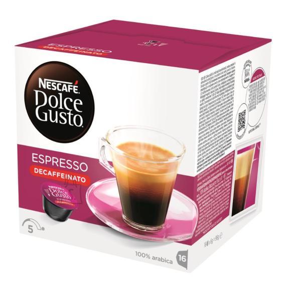 Nescafe kohvikapslid Dolce Gusto Espresso Decaffeinato