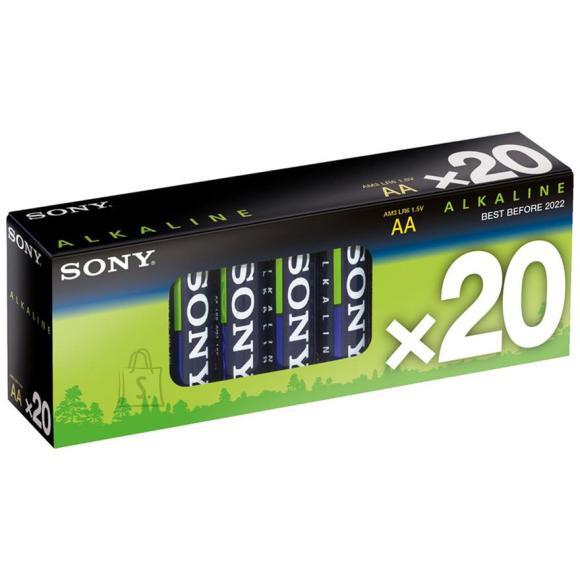 Sony AM3-M20X 20 x AA patareid Alkaline