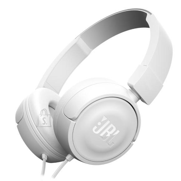 JBL JBLT450WHT kõrvaklapid T450