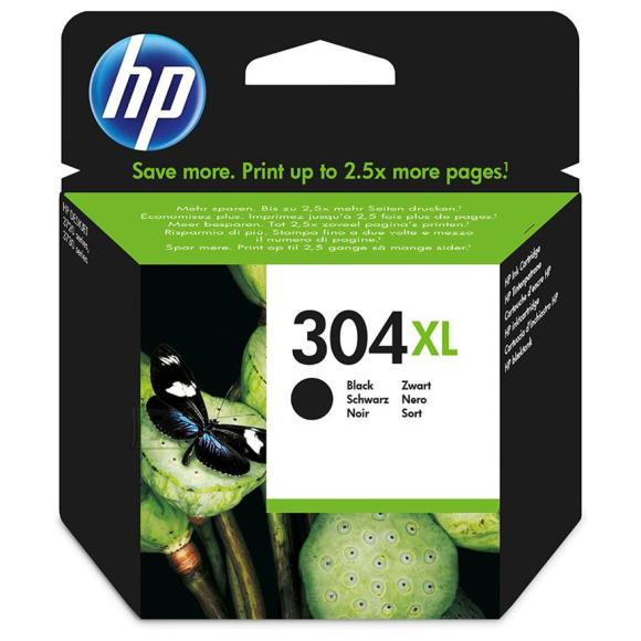 HP tindikassett 304XL must