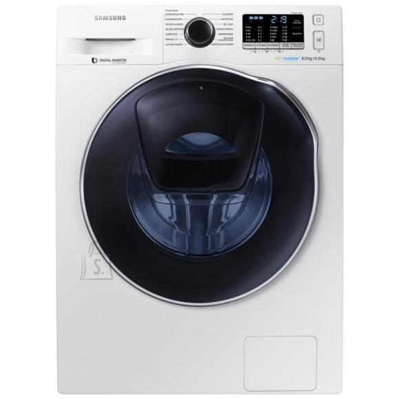 Samsung WD80K5410OW/LE eestlaetav pesumasin-kuivati 1400 p/min