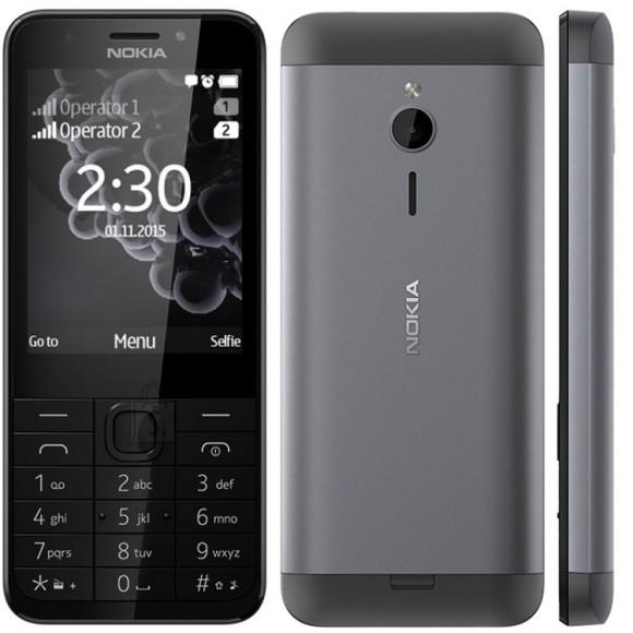 Nokia NOKIA230DS-DARK 230 mobiiltelefon dual sim