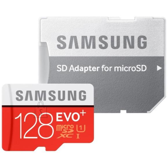 Samsung Micro SDHC mälukaart + adapter EVO+ 128 GB