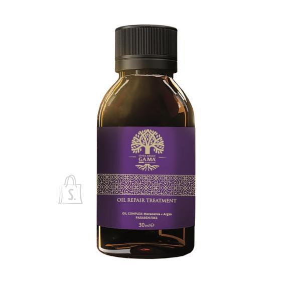 GAMA GT9901 taastav juukseõli Argan oil 30 ml