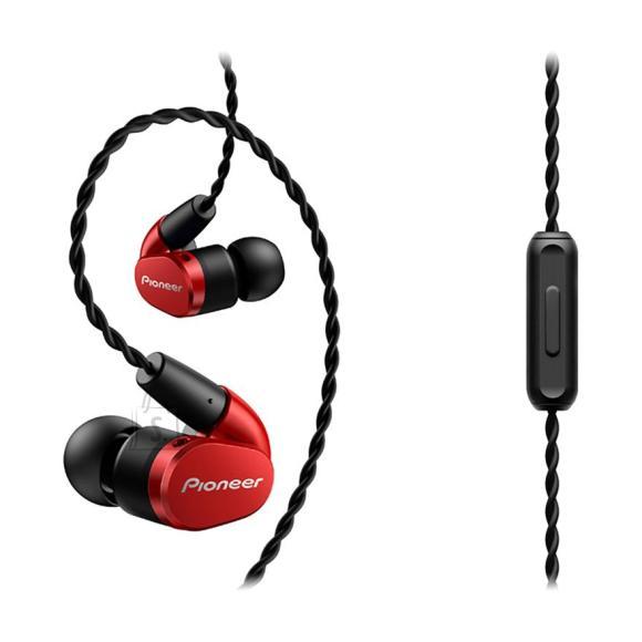 Pioneer kõrvaklapid SE-CH5T punane