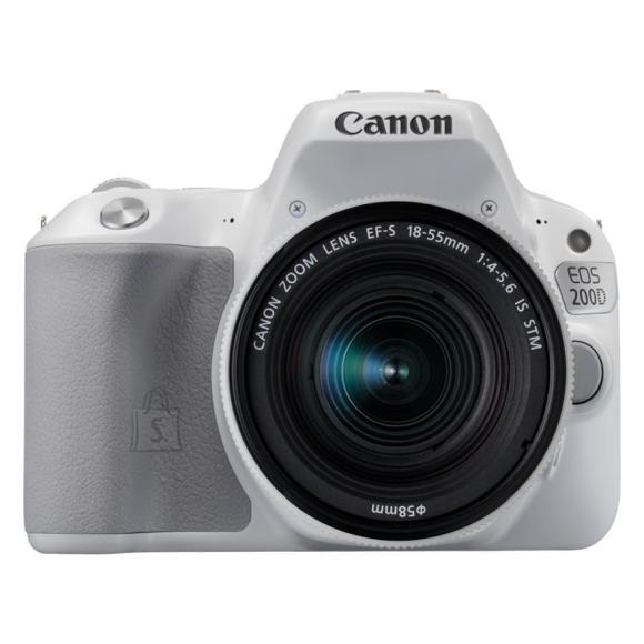 Canon peegelkaamera EOS 200D + objektiiv 18-55mm IS STM