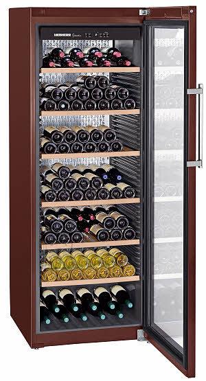 Liebherr veinikülmik GrandCru 253-le pudelile