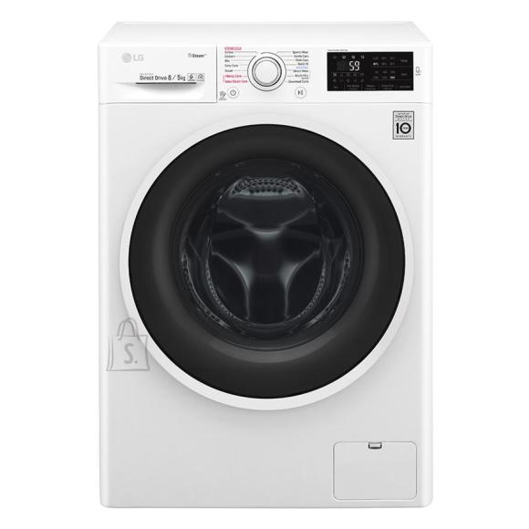 LG eestlaetav pesumasin-kuivati 1400 p/min