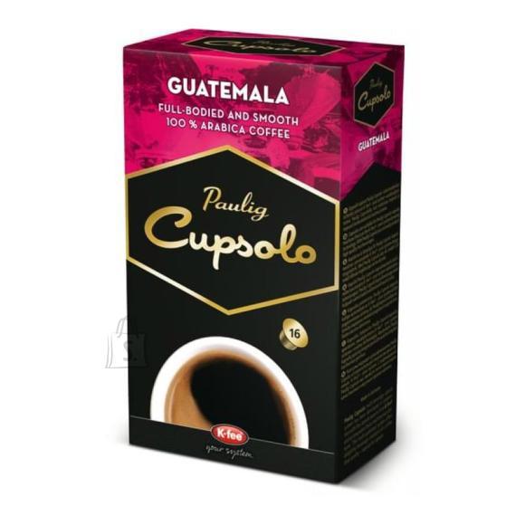Paulig kohvikapslid Cupsolo Guatemala