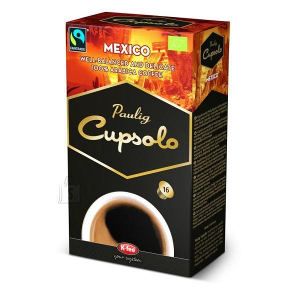 Paulig kohvikapslid Cupsolo Mexico