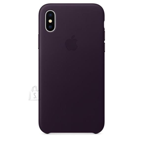 Apple iPhone X nahast ümbris